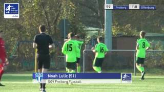 A-Junioren - SGV Freiberg Fussball vs. Offenburger FV 1:0 - Noah Lulic