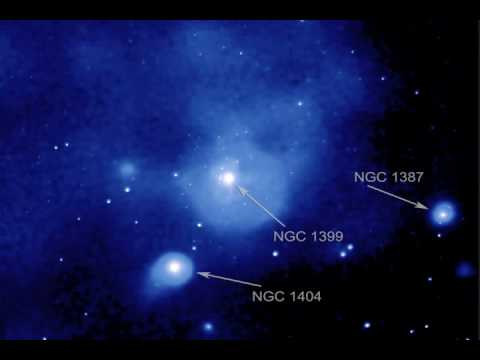 NGC 1399 Fornax Cluster Group, Dissolve from Optical - X-ray