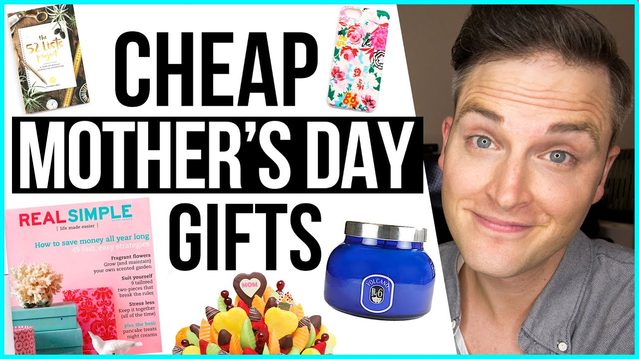 Cheap Mother S Day Gifts 7 Budget Gift Ideas For Mom Youtube