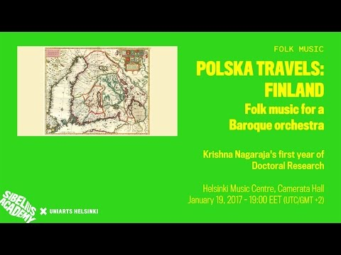 Polska Travels: Finland - Folk music for a Baroque orchestra