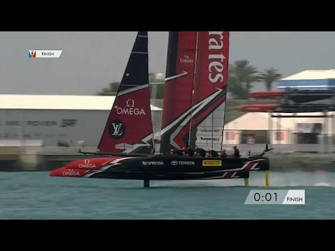Kiwis sail through to America's Cup final - sport