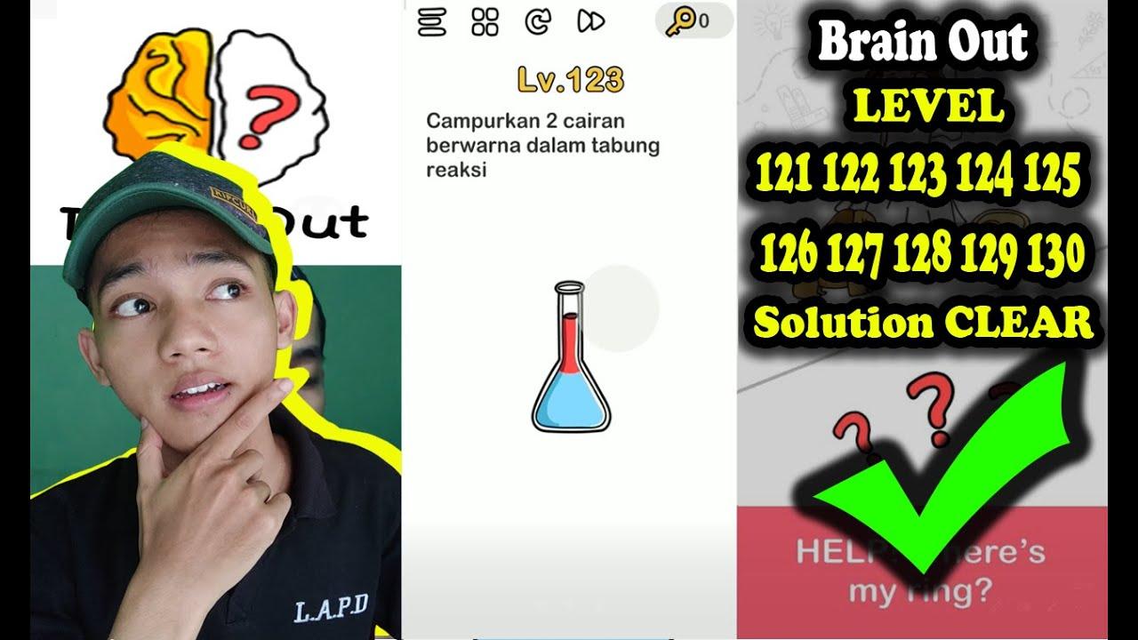 Jawaban Brain Out Level 121 122 123 124 125 126 127 128 129 130 Solution Walkthrough Indonesia Youtube