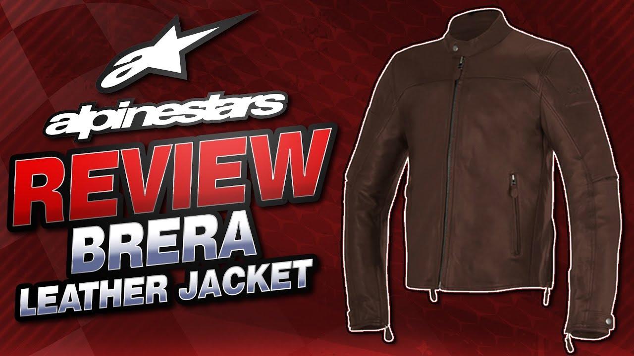 Alpinestars Leather Jacket >> 2016 Alpinestars Brera Airflow Leather Jacket Review from ...