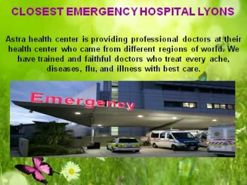 Emergency Room Hospital Astra Health Center 1