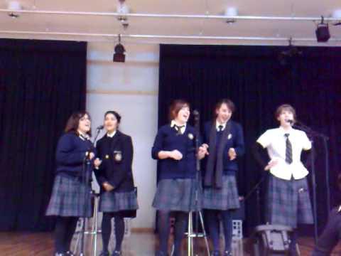 I Pharadisi -  MSJ Year 12 Music girls