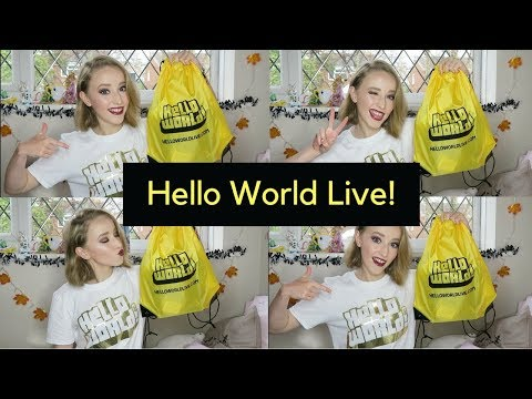 MY HELLO WORLD LIVE VIP EXPERIENCE! Addressing the Bad Reviews and Negativity | Esme Hill