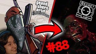 GTA SAN ANDREAS W SCP SL! WOJNY GANGÓW! | SCP Secret Laboratory #88