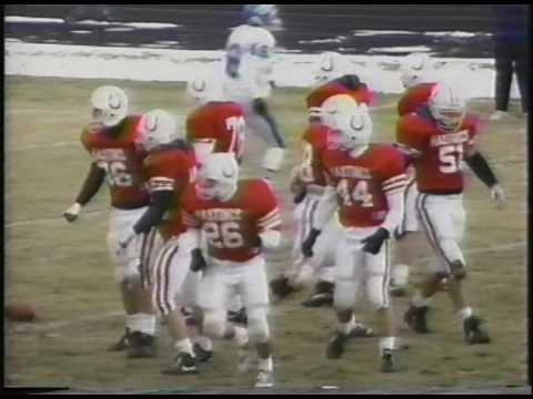 Hastings College vs St. Mary 1991 Playoff Game