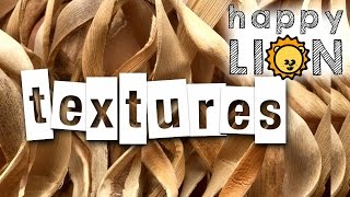 Learn Textures for Kids