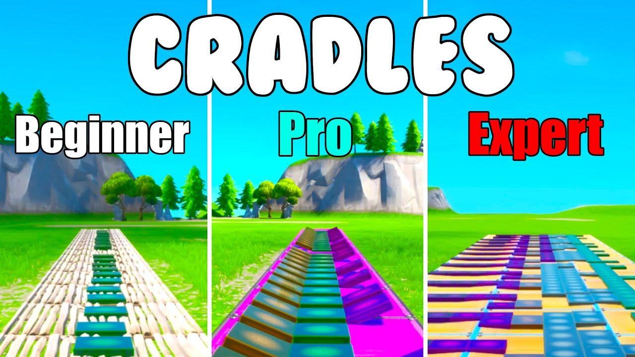 Sub Urban - Cradles Beginner vs Pro vs Expert (Fortnite Music Blocks)