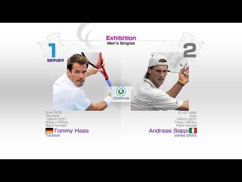 virtua-tennis-4-sega-tommy-haas-vs-andreas-seppi-rafael-nadal-roger-federer-andy-murray