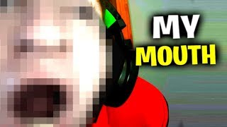 Mouth Reveal - Fortnite