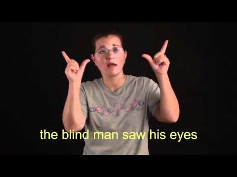 ASL I Heard Him Come