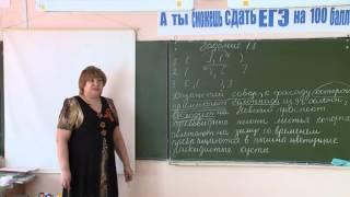Видеоурок «Готовимся к ЕГЭ по русскому языку. Алгоритм работы над выполнением задания №18»