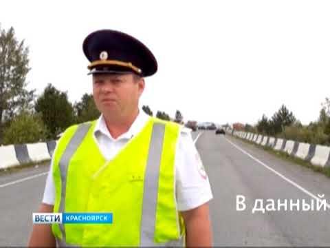 На трассе Ачинск - Ужур разлетелся на части грузовик