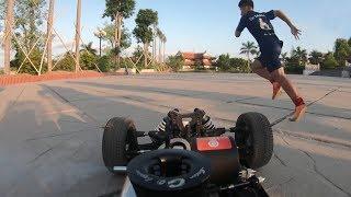 NTN - Thử Thách Chạy Đua Với Xe Đồ Chơi RC  ( Racing with toy car challenge )