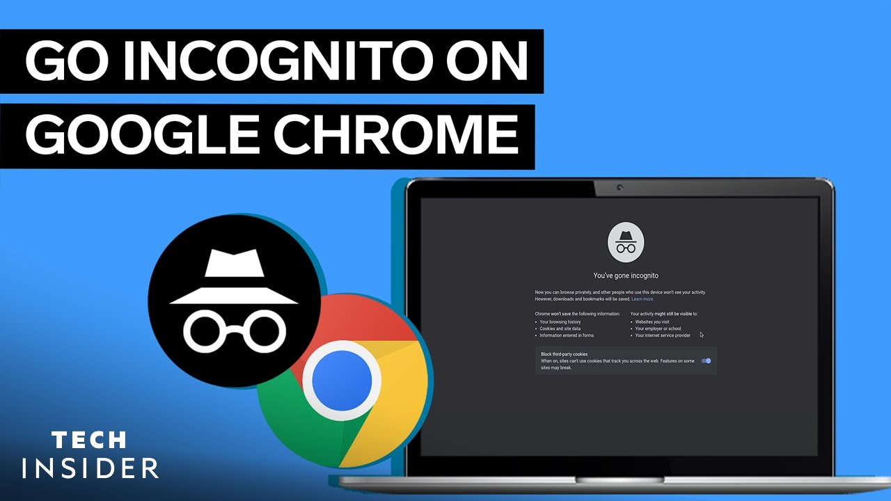 How to Go Incognito on Google Chrome
