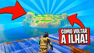 HOW TO GET TO THE SECRET ISLE OF FORTNITE