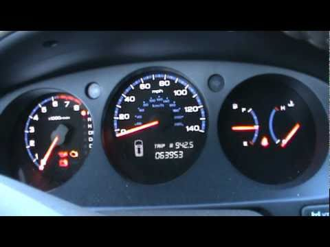 Acura MDX Dash View Cold Start YouTube - 2005 acura tl dashboard