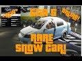 """GTA 5 Online - How to Get the """"Snow Car"""" - Secret/Rare Car Tutorial! (GTA V Online)"""
