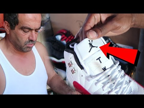 HE SOLD ME  FAKE REPLICA JORDANS AND GUCCI BACKPACK! $100 CHALLENGE!