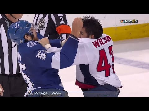 Tom Wilson vs Braydon Coburn May 23, 2018