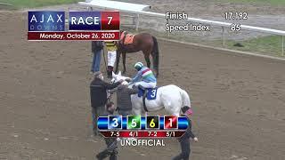 Ajax Downs October 26th, 2020 Race 7