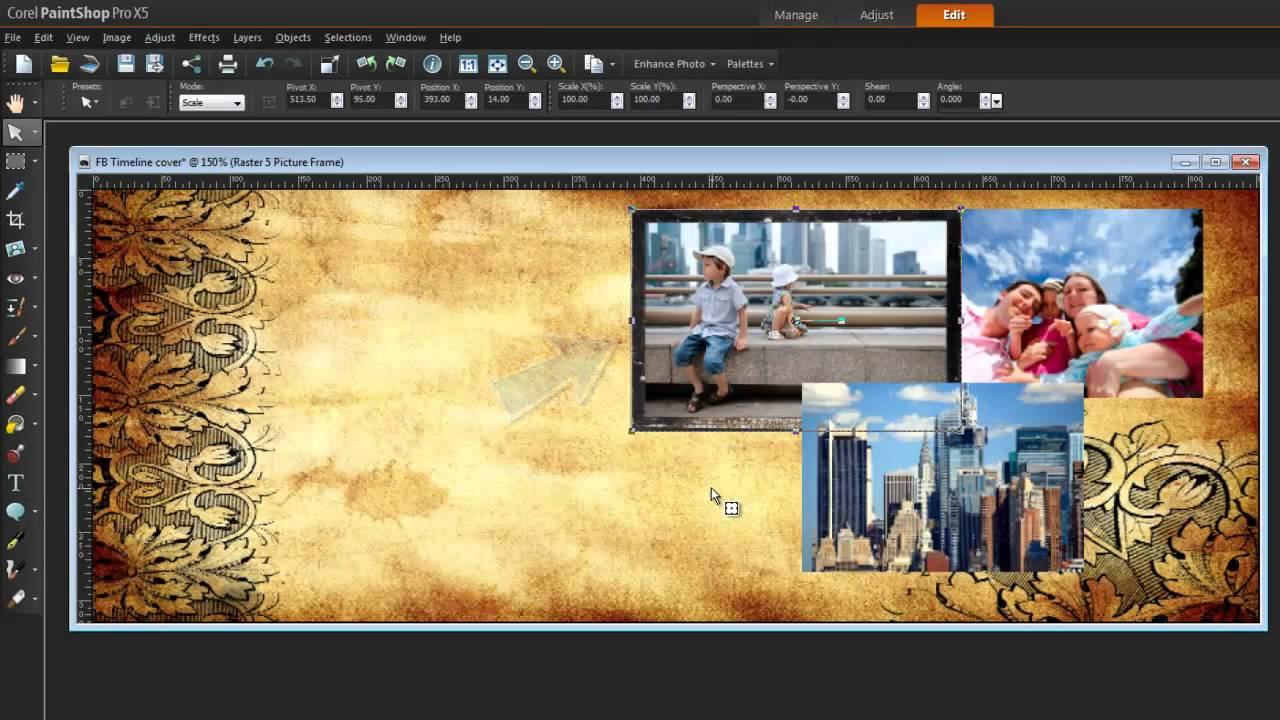 Tutorial paintshop pro x5 create a facebook timeline cover tutorial paintshop pro x5 create a facebook timeline cover collage jeuxipadfo Gallery