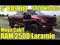 LIFTED 2017 Ram 2500 Cummins MEGA CAB!  3