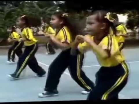 Senam Sehat 2016 Anak indonesia