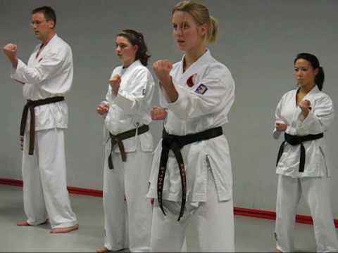 Kata workout with sensei Ries van Toorn. Okinawa Goju-Ryu Karate-do. Part 1