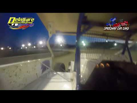 #92 Jason Rush - Modified - HEAT - 6-16-18 Delaware International Speedway - In Car Camera