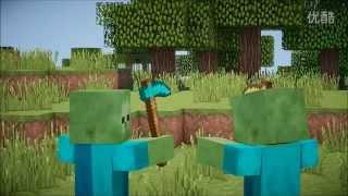 ※我的世界※Minecraft※《如果村民和僵尸互换了》