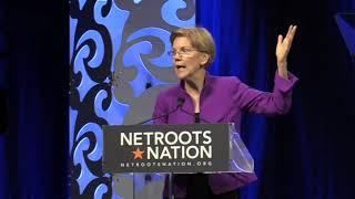 Senator Elizabeth Warren At Netroots Nation 2018