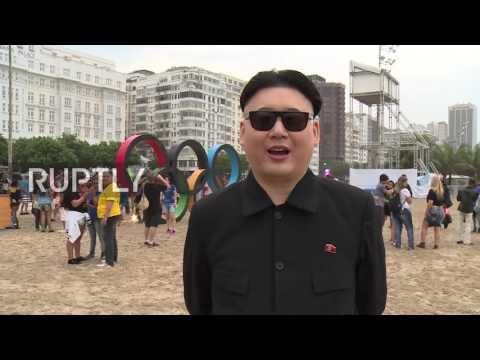 Brazil: 'Kim Jong-un' makes appearance at Rio Olympics