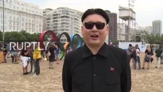 Brazil: 'Kim Jong-un' makes appearance at Rio Olympics