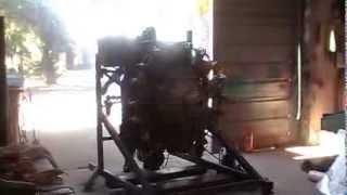 moteur broussard pratt & whitney 985 9 cylindres en étoile