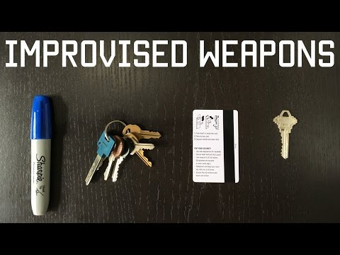 Improvised weapon skills & Techniques | Self Defense Training | Tactical Rifleman
