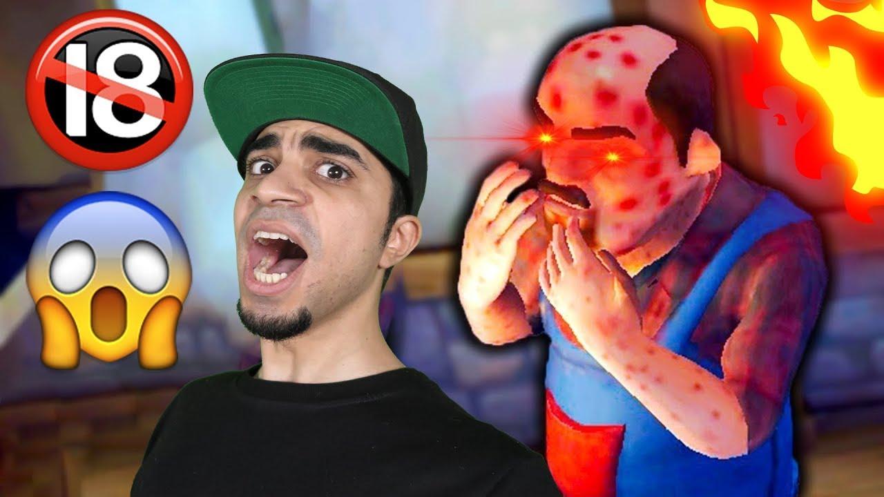 مقالب مضحكة جداً في الجار النفسية Scary Neighbor 3D !!