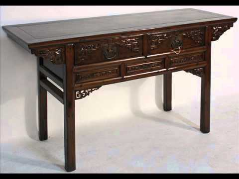 Antique Chinese Carved Desk or Console Table_bk0039y.wmv - Antique Chinese Carved Desk Or Console Table_bk0039y.wmv - YouTube