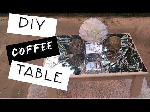 DIY | MIRROR COFFEE TABLE