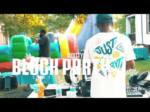 Siditty - Block Party Freestyle (Official Music Video)