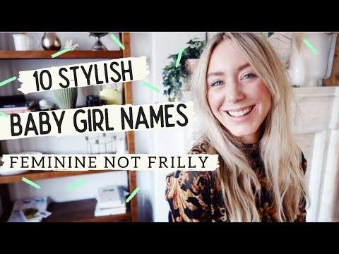Short, Stylish Baby Girl Names - Feminine Not Frilly! SJ STRUM BABY NAMES