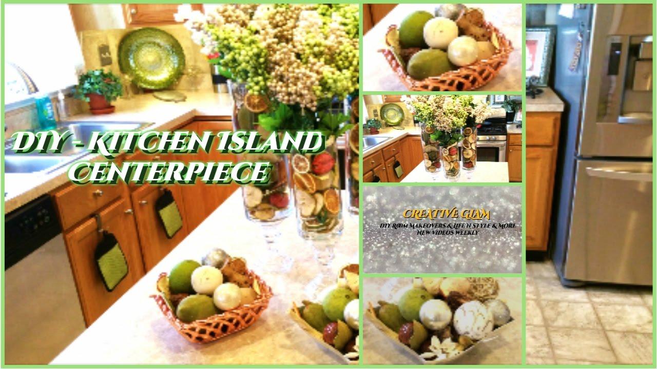 💎CREATIVE GLAM💎 DIY - Kitchen Island Centerpiece 📷