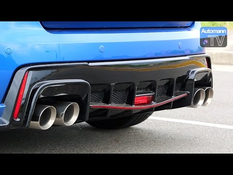 2016 honda civic type r armytrix exhaust 60fps