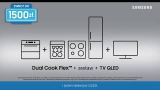 Piekarnik Samsung Dual Cook Flex™ | Promocja Cashback | Zwrot za zakupy – aż do 1500 zł!