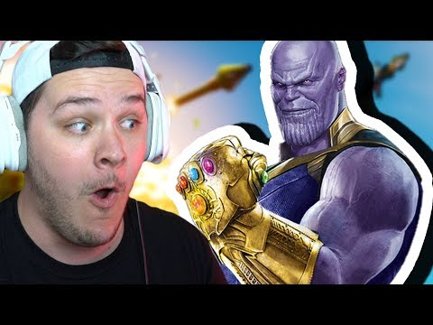 TRYING TO BE THANOS IN FORTNITE (notice That I Said