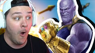 "TRYING TO BE THANOS IN FORTNITE (notice that I said ""trying"")"