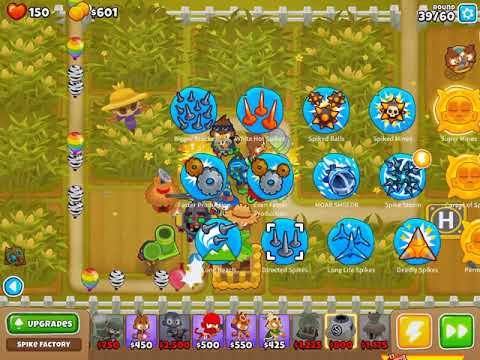 1hour mixed btd6 game play