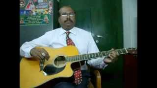 Singalathu chinna kuyile guitar instrumental by Rajkumar Joseph.M